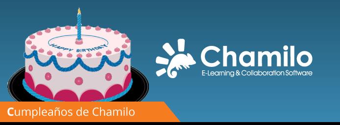 ¡Feliz cumpleaños Chamilo!
