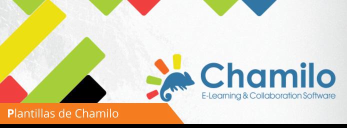Plantilla presentación de Chamilo