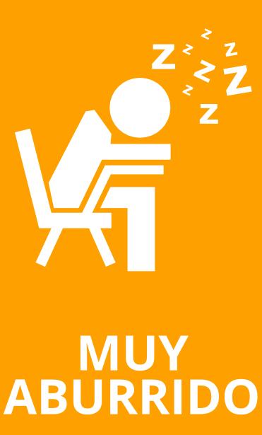 Alumno muy aburrido