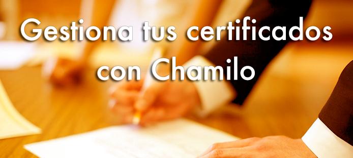 Cómo automatizar la emisión de certificados de formación en Chamilo