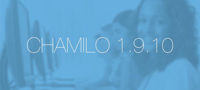 13 cosas útiles que encontrarás en el nuevo Chamilo 1.9.10