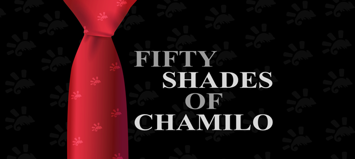 Un regalo picantón: 50 sombras de Chamilo